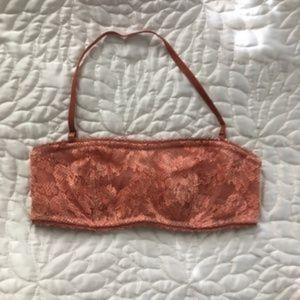 Victoria's Secret 🍑 bandeau bralette floral lace